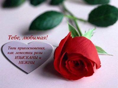 Романтические стихи любимой девушке